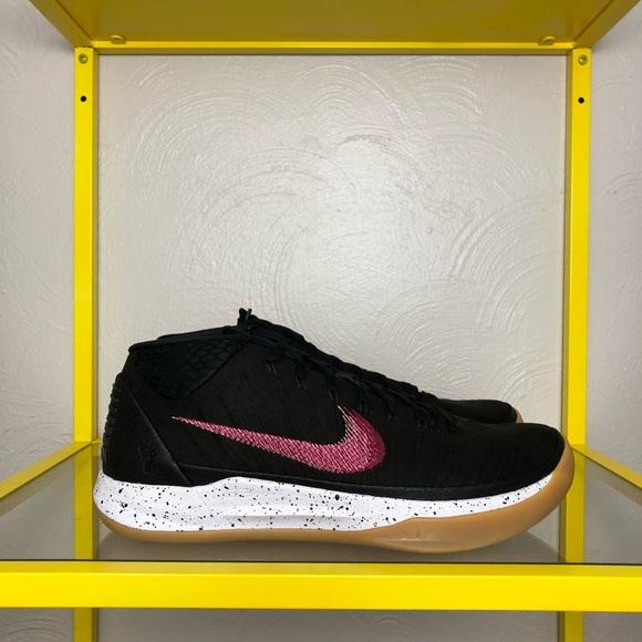 fcde94d034ec Nike Kobe AD Mid Genesis Black Shoes Men s 11 NEW